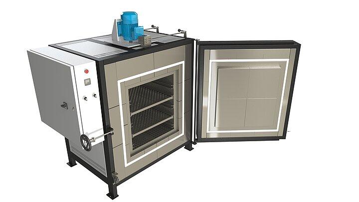 Priemyselná pec SNOL do 450 °C