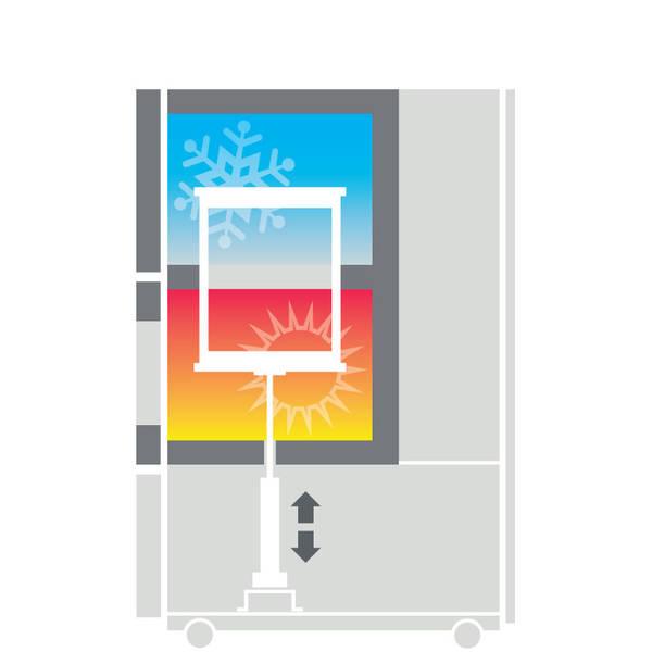 Climats SCAL vo vertikálnom prevedení